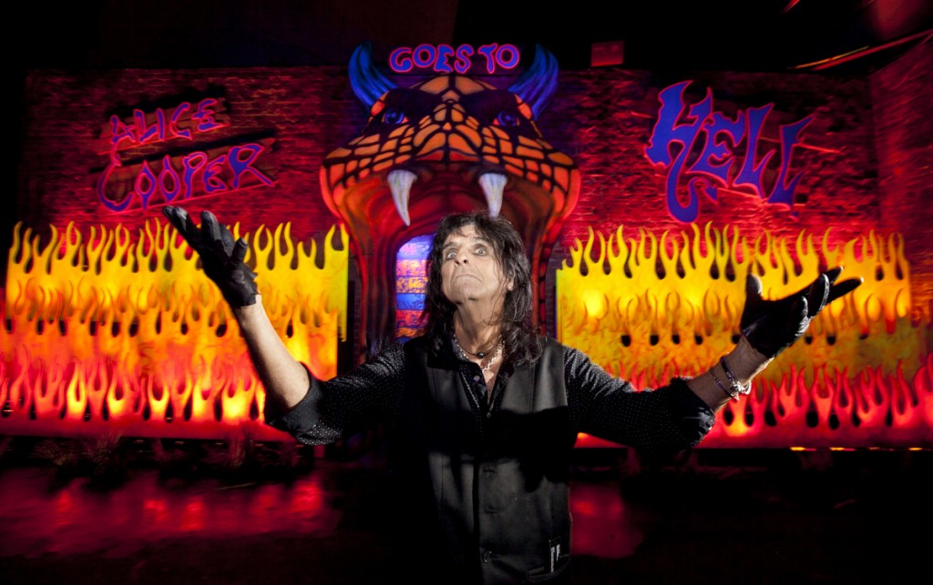 Alice Cooper at Universal Studios Hollywood's Halloween Horror Nights