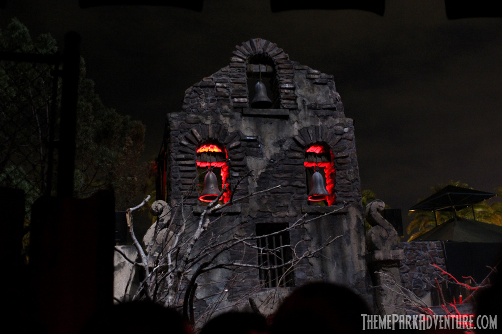 La Llorona facade at Universal's Halloween Horror Nights 2012