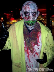 Street Monster at Kings Island Halloween Haunt