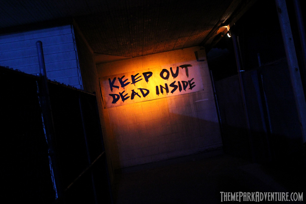 Terror Tram: Invaded by The Walking Dead at Halloween Horror Nights Hollywood 2012