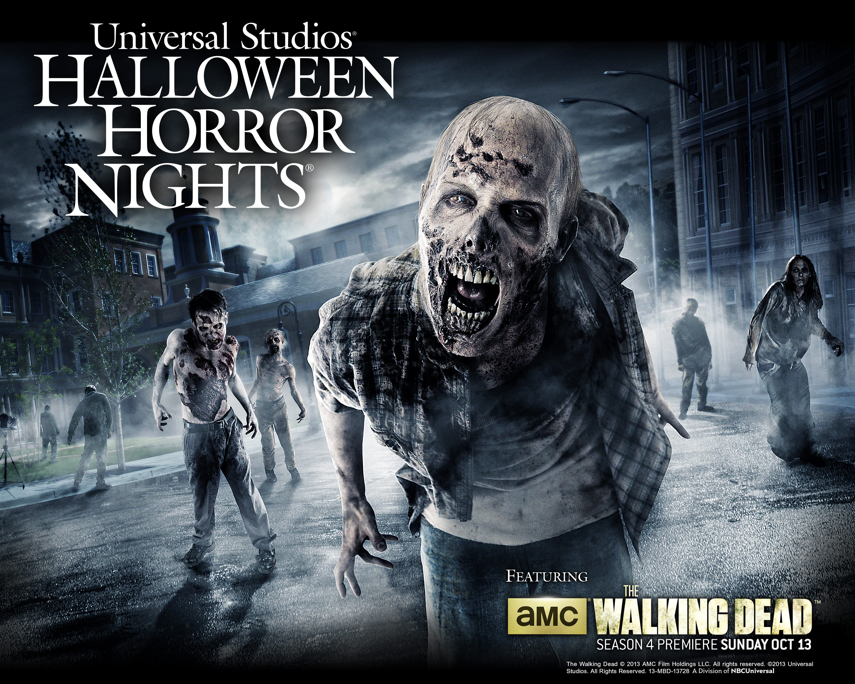 The Walking Dead Returns to Halloween Horror Nights - Theme Park ...