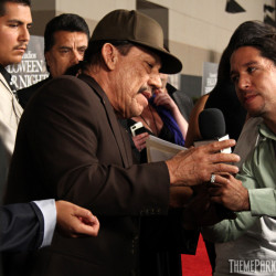 Actor Danny Trejo who narrated the maze, El Cucuy