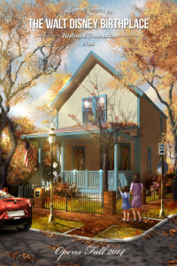 Concept art depicting Disney's restored birthplace