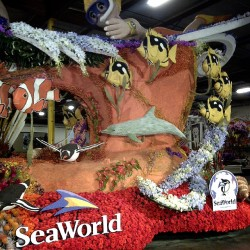 SeaWorld Rose Parade float