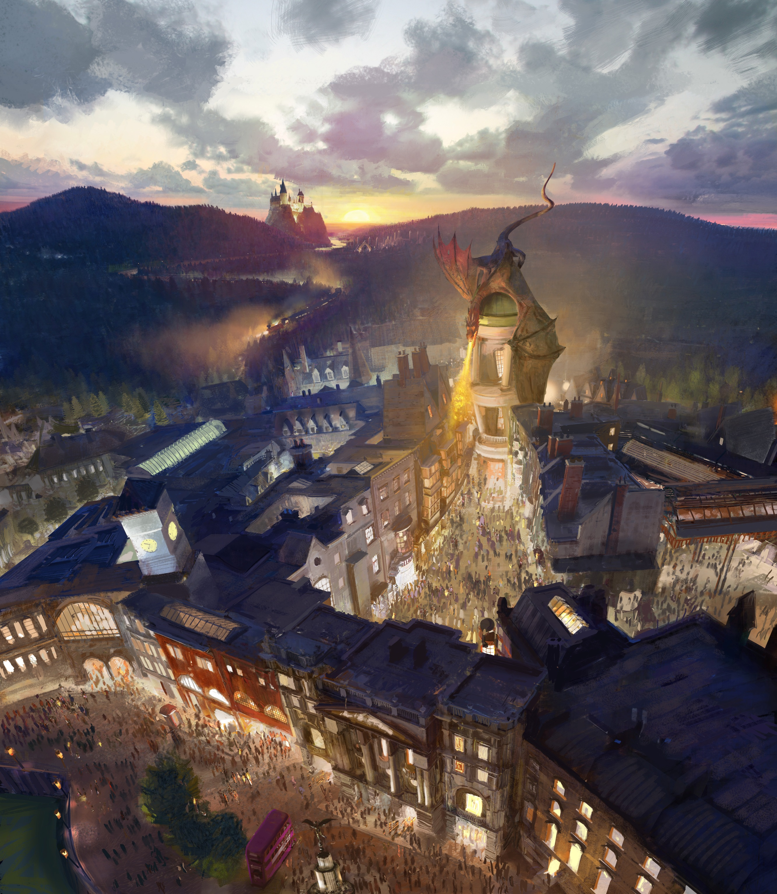 -resources-digitalassets-The Wizarding World of Harry Potter - Diagon Alley Rendering