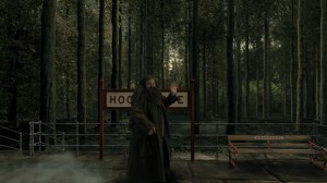 -Images-Hogwarts Express Animation - Hagrid at Hogsmeade Station