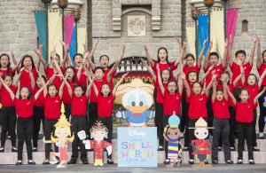 Hong Kong Disneyland Resort Celebrates 50th Anniversary of ÒitÕs a small worldÓ during Global Sing-Along at Disney Parks
