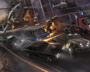 USH  Fast & Furious Supercharged Rendering