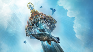 Falcon's Fury concept art from Busch Gardens Tampa