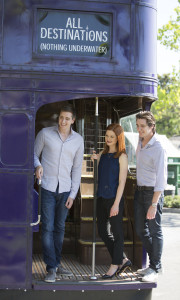 Harry Potter Stars Visit Diagon Alley 4