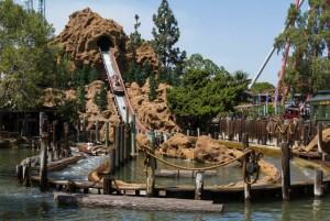 Side View Log Ride New