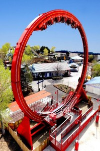 Six Flags Discovery Kingdom Dare Devil Chaos Coaster