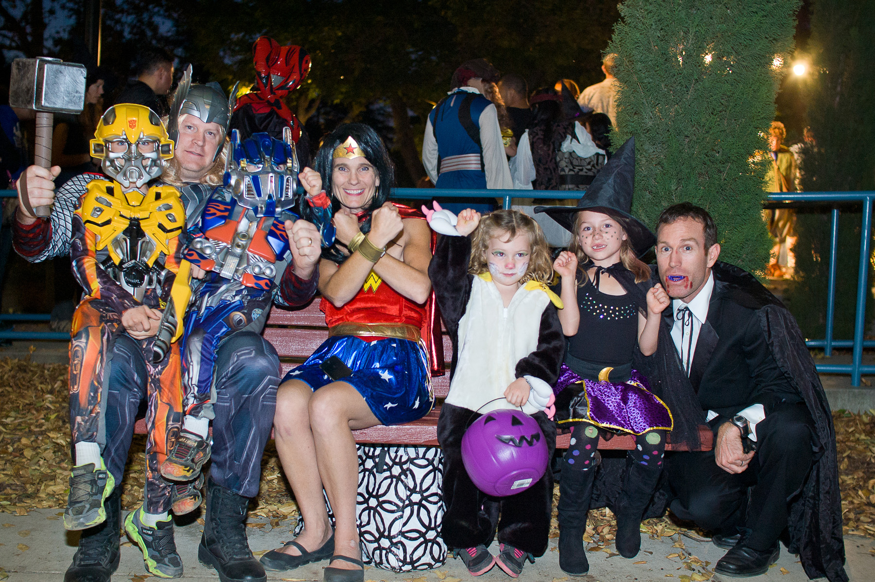 safe and super halloween 2014 at fairytale town - theme park adventure