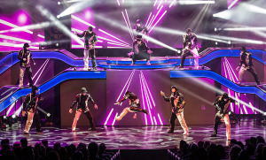 Jabbawockeez in PRiSM at Luxor