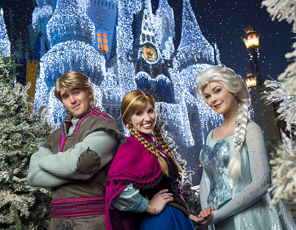 more of the wintry wonder and magic of disneys frozen coming to magic kingdom this holiday