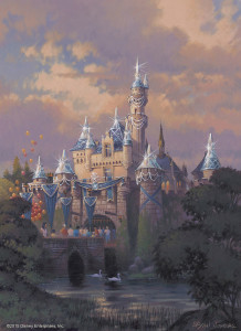 Disneyland-Sleeping-Beauty-Castle-Diamond-Artwork