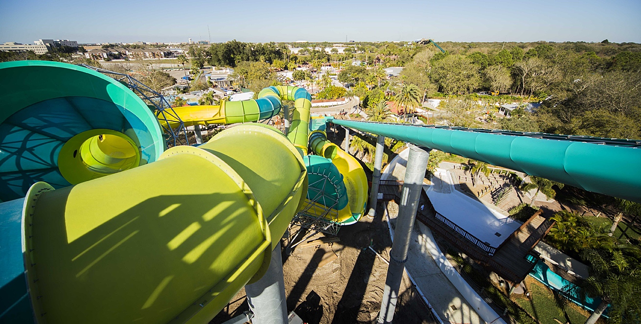 Adventure Island Tampa: Colossal Curl To Open March 7 At Adventure Island