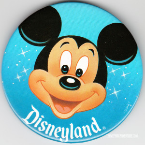 Disneyland-Mickey-Button