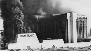 MGM Grand fire in Las Vegas, 1980 - Image credit: Keystone/Hulton Archive/Getty Images