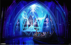 Frozen Ever After Epcot Artwork