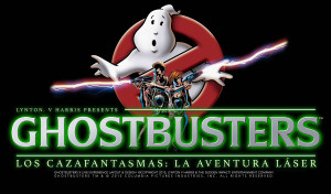 Ghostbusters Six Flags Mexico Logo