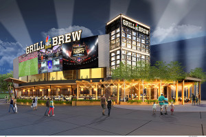 The world's first-ever NBC Sports Grill & Brew is coming to Universal CityWalk – bringing an entirely new level of sports-dining experience.  Opening this fall, the all-new restaurant is designed to reflect the excellence and excitement of NBC Sports' award-winning coverage. The new restaurant will combine a sophisticated and stylish setting with wall-to-wall sports coverage, a specially created menu that includes all your favorites and more – and an amazing beer selection. © 2015 Universal Orlando Resort. All rights reserved.