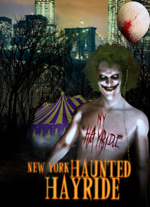 New York Haunted Hayride Poster 2015