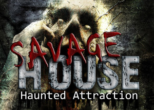 Savage House Haunted Attraction Logo