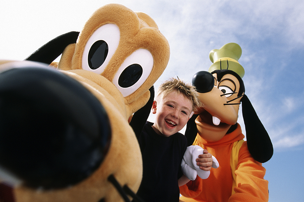 Walt Disney World Pluto Goofy