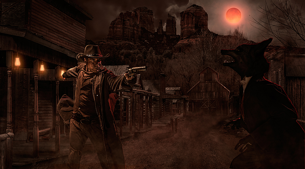 Gunslinger's Grave Blood Moon Knott's