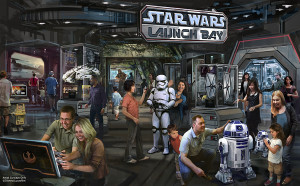 Star Wars Launch Bay Concept Art Disney