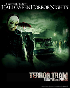 Terror Tram-Survive the Purge at HHN 2015