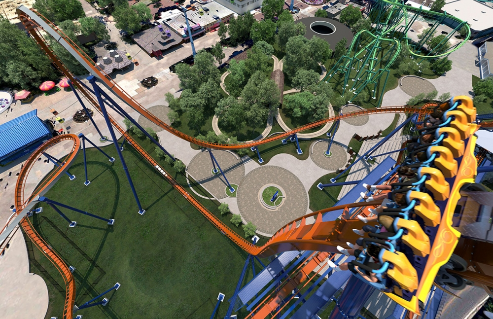 Cedar Point Unveils World S Biggest Dive Coaster For 2016