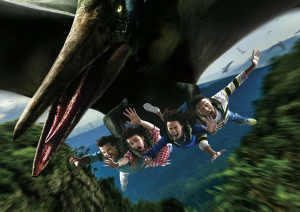 Flying Dinosaur Coaster Universal Japan