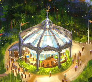 Fox World Concept Ice Age Carousel