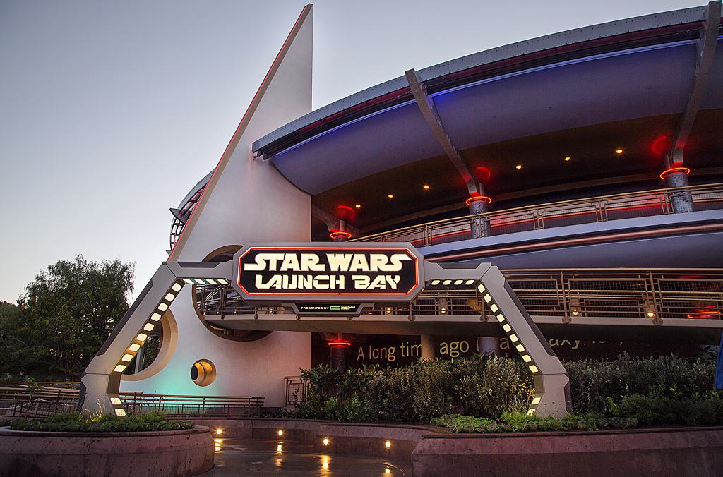 Star Wars Launch Bay exterior