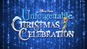 Disney Parks Unforgettable Christmas Logo