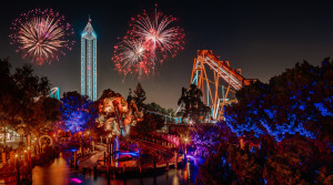 Knott's Berry Farm New Year's Eve Fireworks