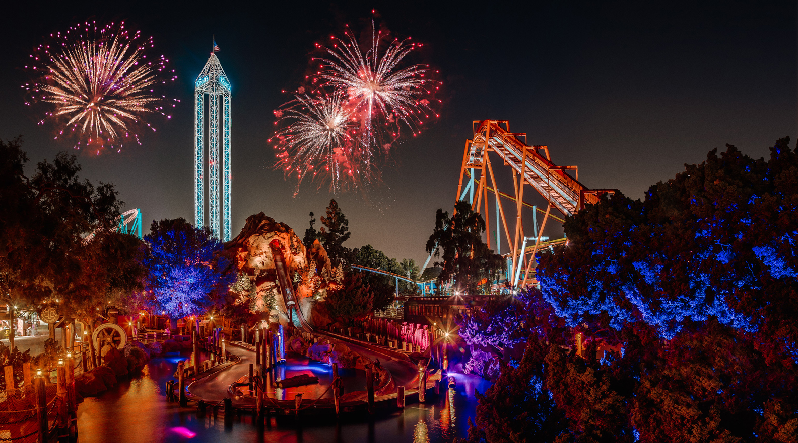 Celebrate New Year S Eve At Knott S Berry Farm To Ring In