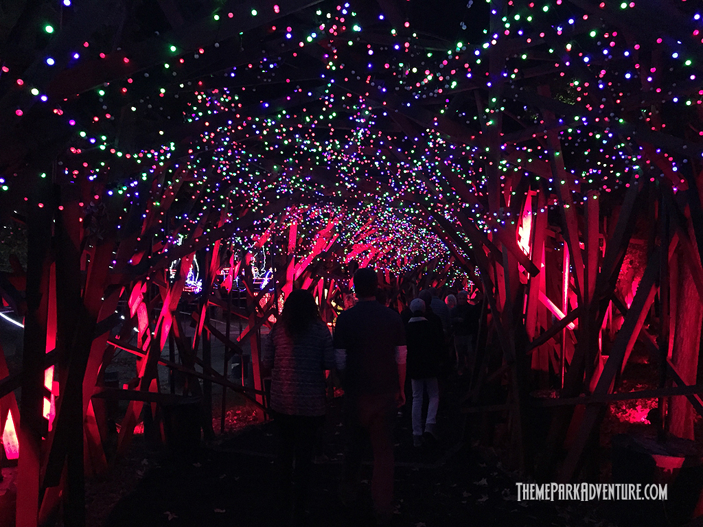 L A Zoo Lights 2015 Brings Holiday Cheer To Griffith Park