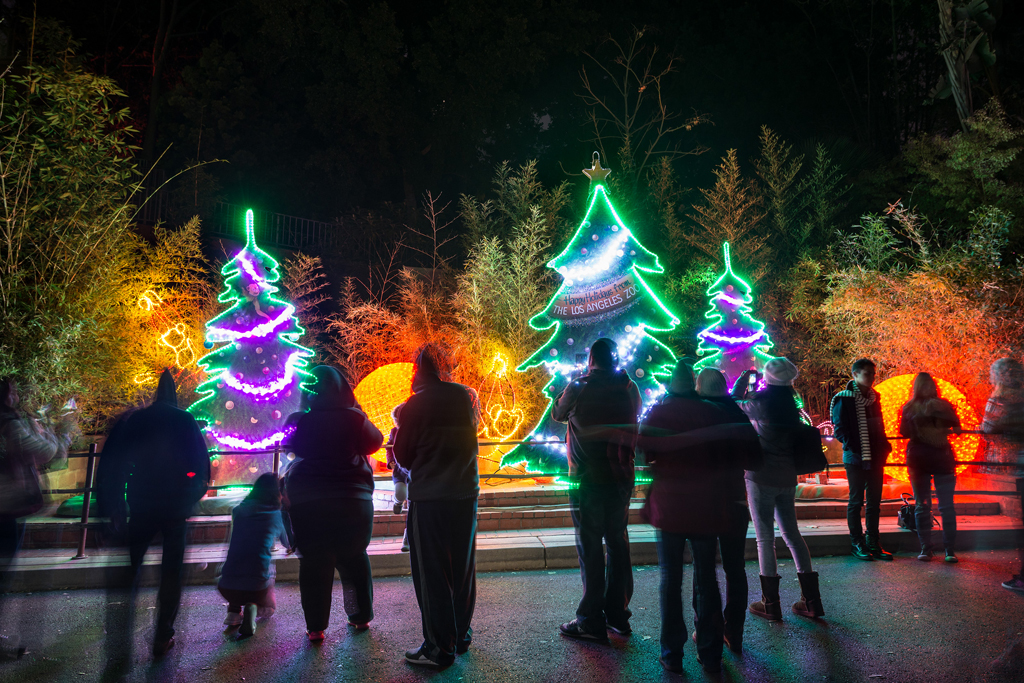 LA Zoo Lights Greetings - PHOTO CREDIT: Jamie Pham