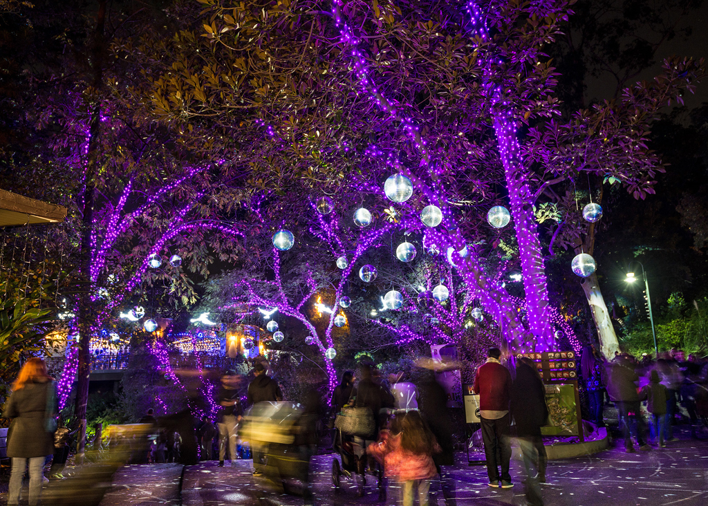 LA Zoo Lights Ornaments - PHOTO CREDIT: Jamie Pham