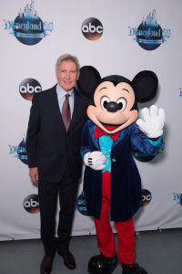 HARRISON FORD, MICKEY MOUSE