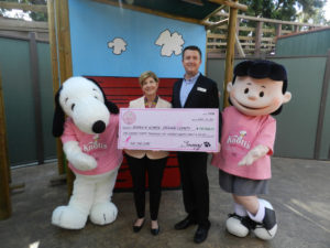 2016 Knott's for the Cure Check Presentation