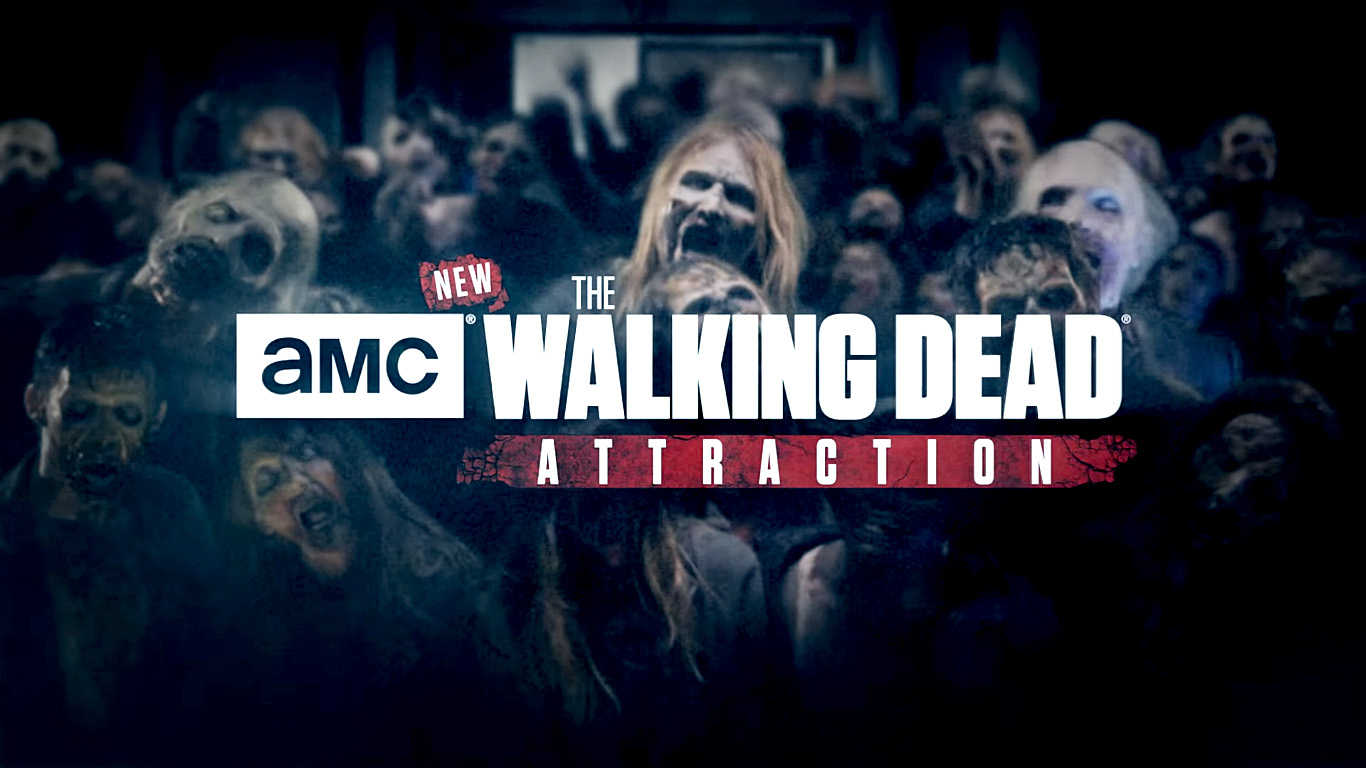 Walking Dead Attraction Title