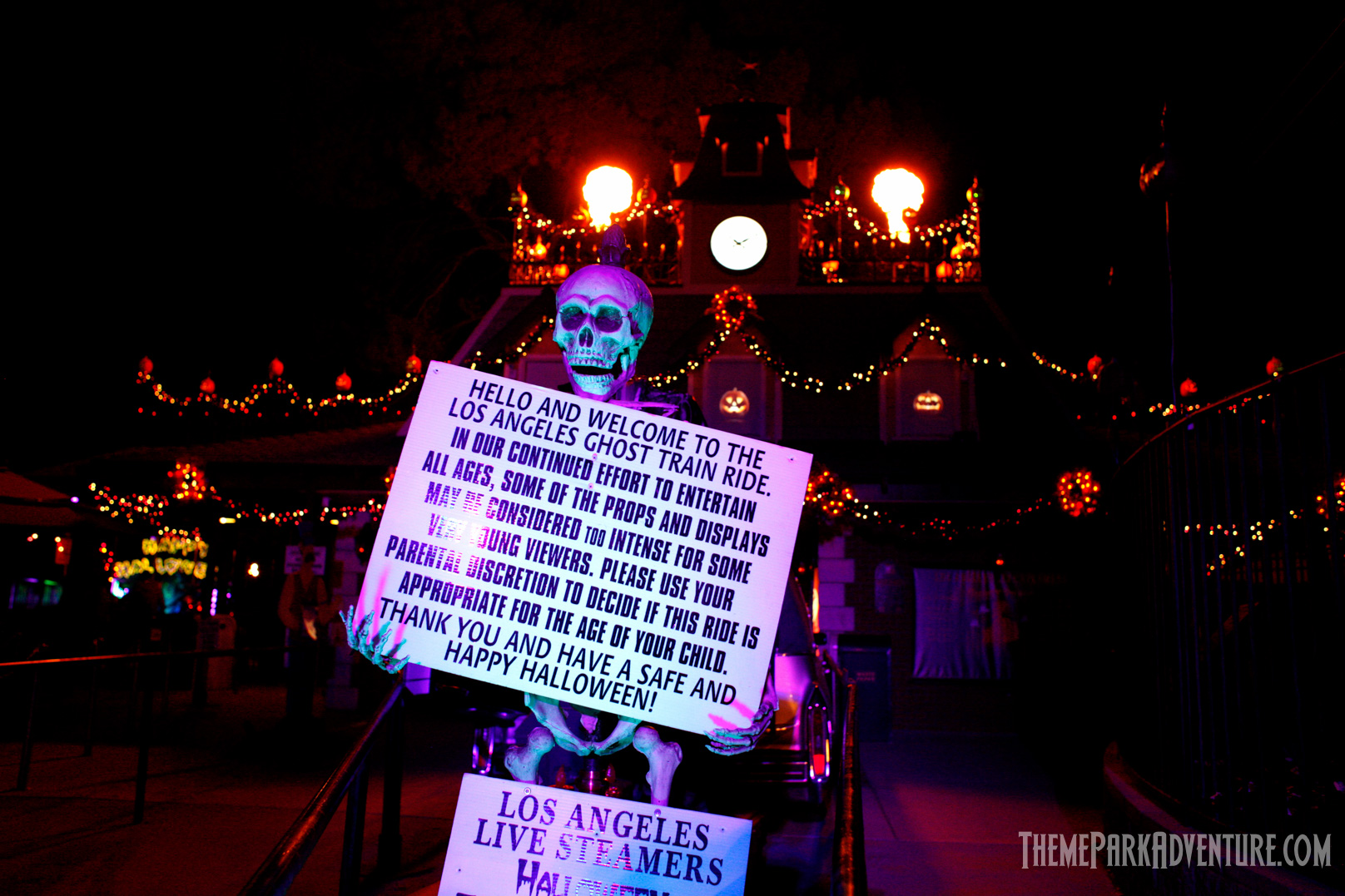 Ghost Train Cancelled by Los Angeles Live Steamers Board of ...