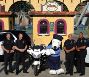 Fire and Law Tribute Days at Knott's Berry Farm