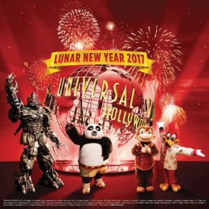 Lunar New Year 2017 at Universal Studios Hollywood
