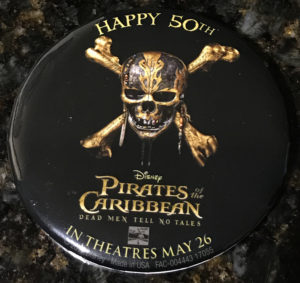 Pirates of the Caribbean 50th Anniversary