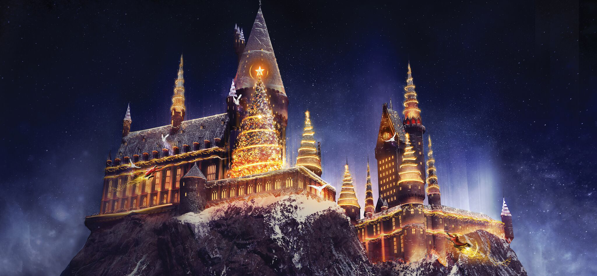 The Wizarding World of Harry Potter Christmas is coming to Universal Orlando Resort!